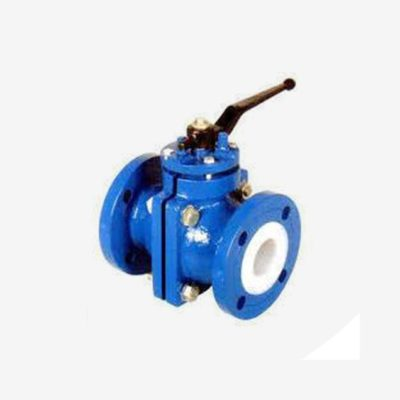 PFA Lined Flanged End Ball Valve