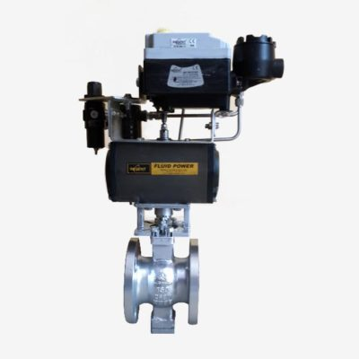 V Notch Ball Control Valve